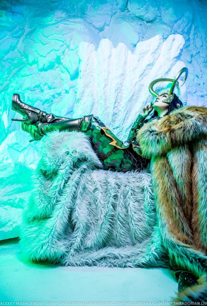 Lady Loki by ZoeVolf