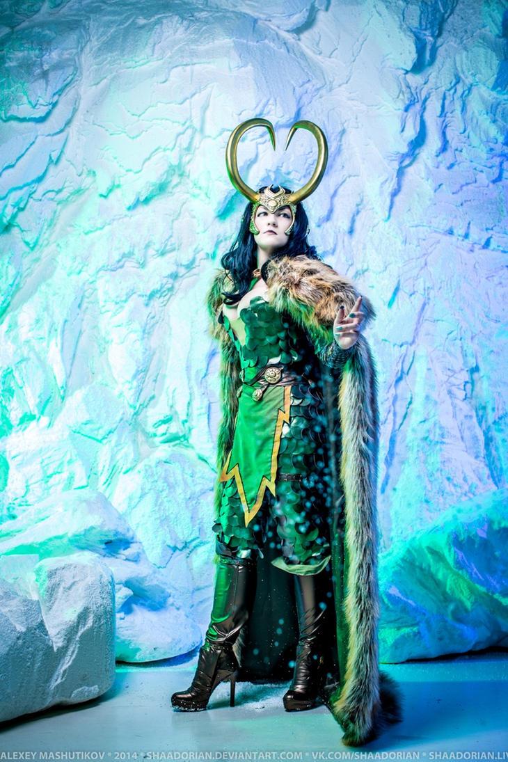 Lady Loki - ice and snow by NemoZoe