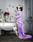 Scissors Crown - Violet Cake by ZoeVolf
