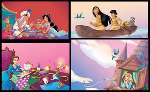 Disney_Princess_mix_1_Scuderi by Skudo