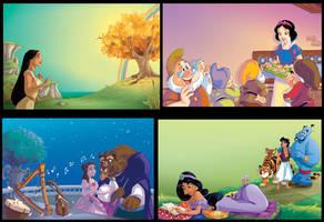 Disney_Princess_mix_2_Scuderi by Skudo