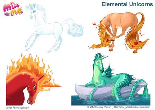 Mia and Me_Elemental Unicorns_Scuderi