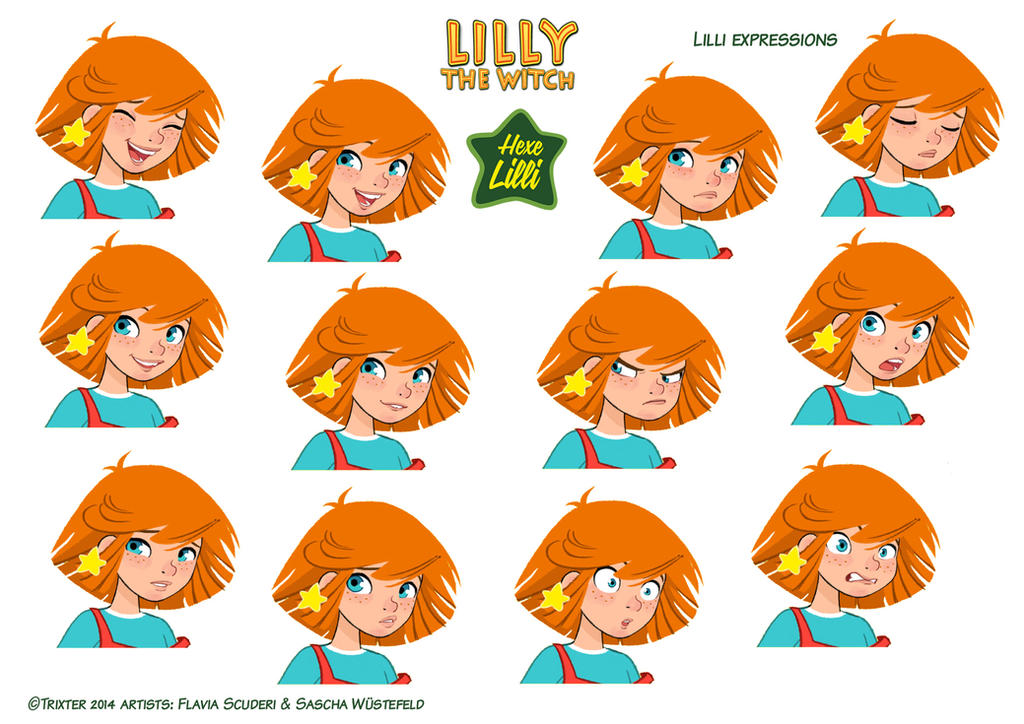 Hexe Lilli the Witch expressions2 by Skudo