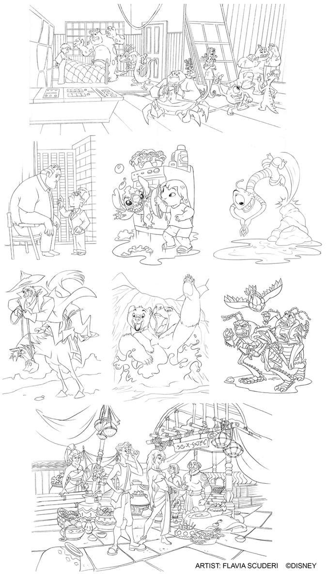 Disney mix pencils Scuderi by Skudo