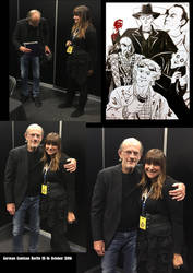 Berlin Comicon 2016 Christopher Lloyd by Skudo