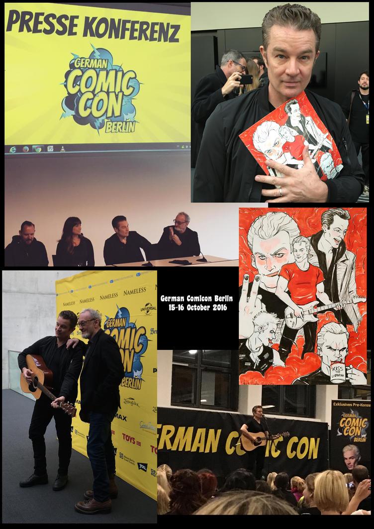 Berlin Comicon 2016 James Marsters Robert Englund by Skudo