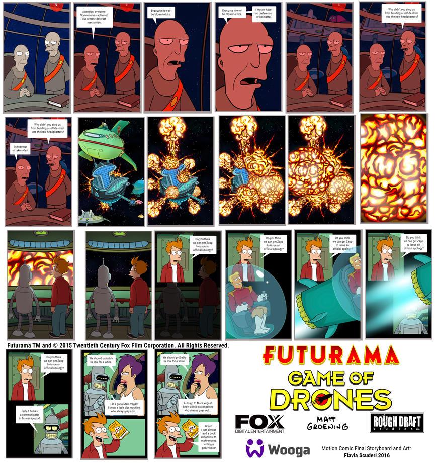 Futurama Game of Drones Scuderi 01 by Skudo