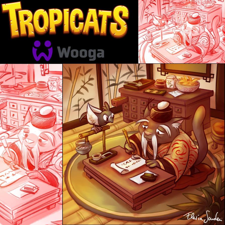 Tropicats Mee Li teacher  illu by Skudo