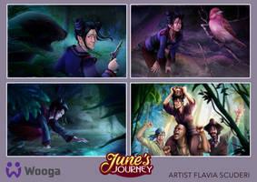 June's Journey Willow Island Tales
