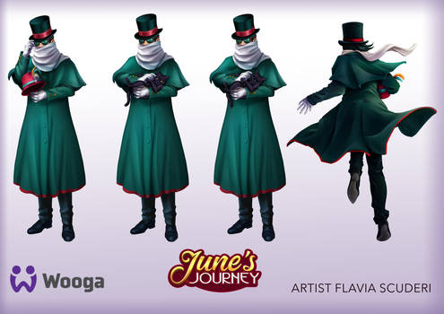 June's Journey Conductor Railway Riddles