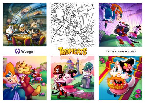 Tropicats Illustrations 08