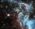 Monkey's Head Nebula by MortNevermore