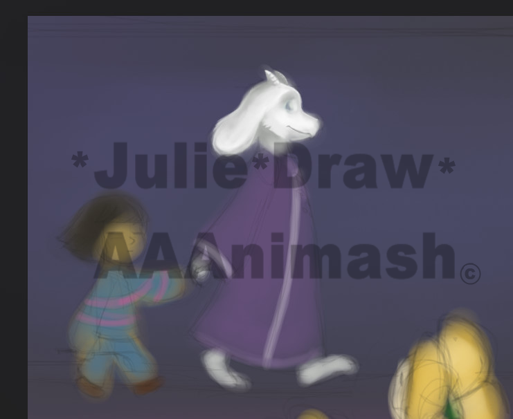 Prew Toriel by JulieDraw2046