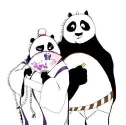 Mei Mei x Po by JulieDraw2046