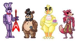 FNaF Crew Pixels