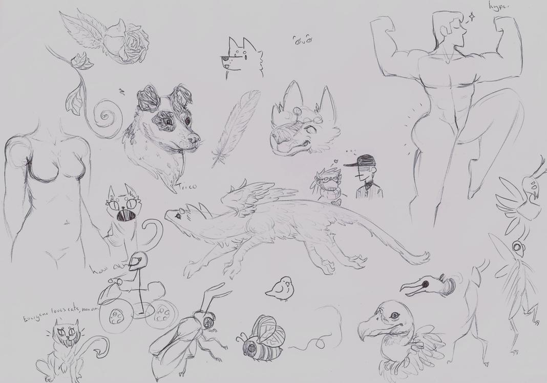 Sketchdump 3 by AviatrixCadenza