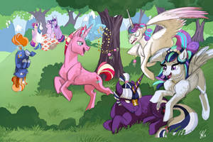 Picnic with the family by Vindhov