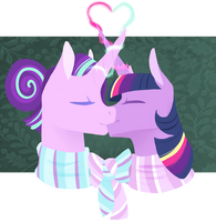 Hearth's warming couples 4: Magical kiss by Vindhov