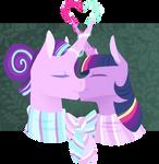 Hearth's warming couples 4: Magical kiss