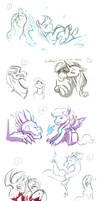 Stream Sketches: So many sketches