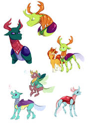 Changelings by Vindhov