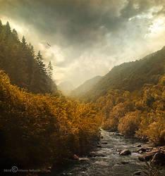 Encounter of seasons by Vittorio-Pellazza