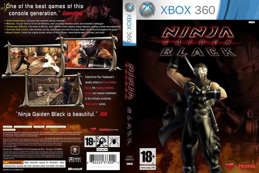 Ninja Gaiden Black Xbox360 By Larryfagundes On Deviantart
