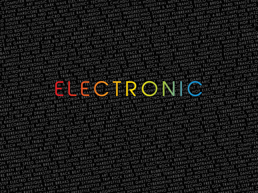 Electronic Wallpaper 1600 X 1200 By Chato92 On Deviantart