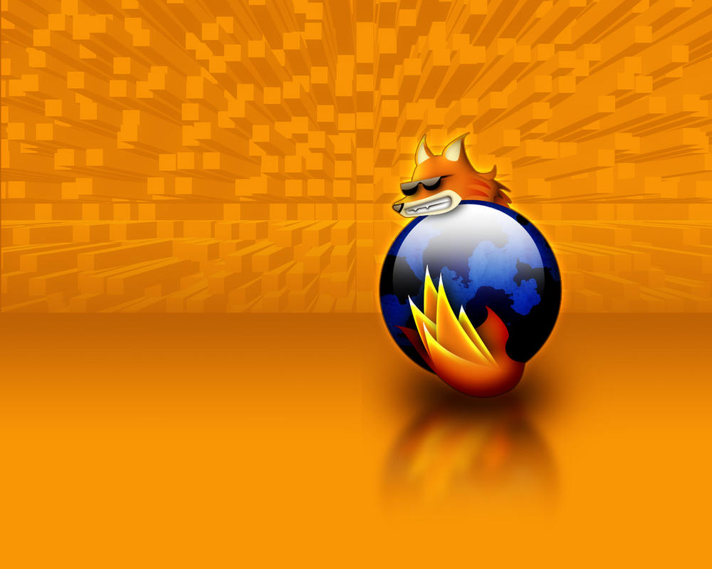 firefox wallpaper by BeaverDesign