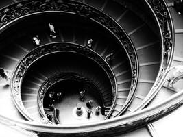 Bramante stairs. by MireiaSalvado