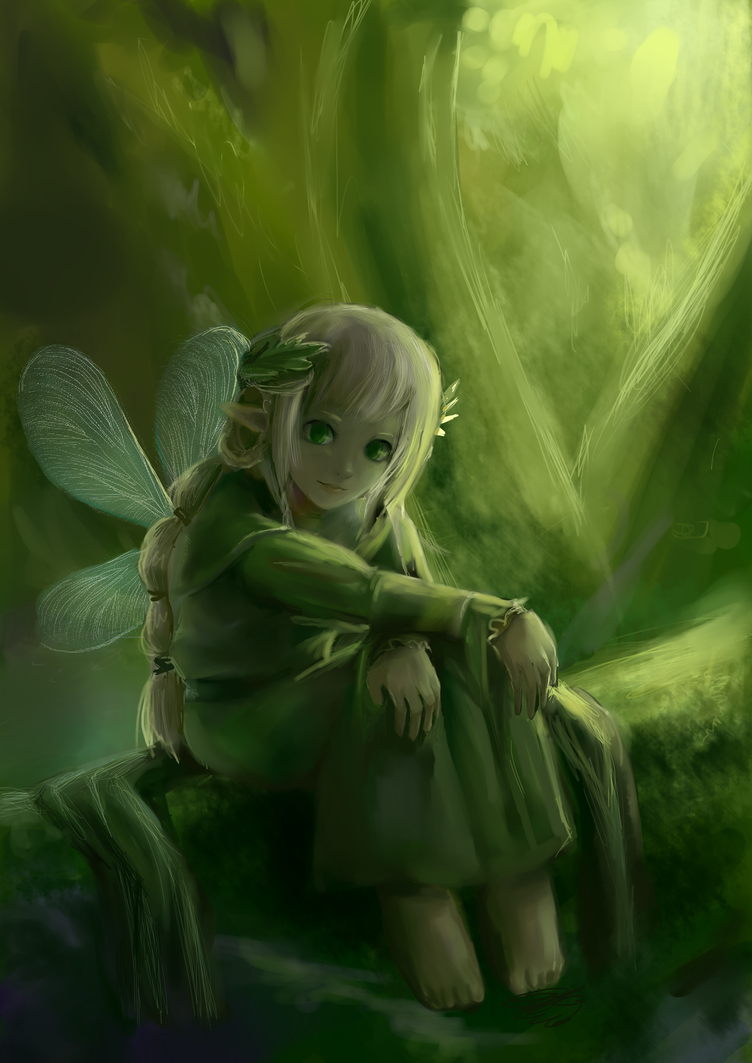Forest Fairy by EstheGO