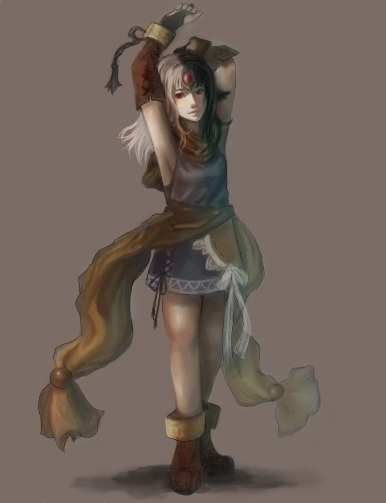 Aria Character Design (unfinished) by EstheGO