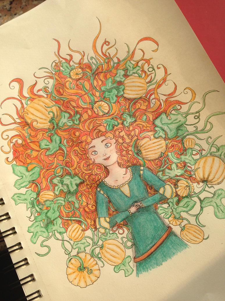 The autumn is orange by Follin