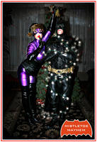Mistletoe Mayhem A Catwoman Christmas by thedorkbatward