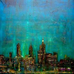 New York Nights by kevinhunterart