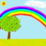 Rainbow in Heaven's Valley