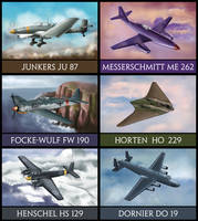 WW2 German Aircrafts