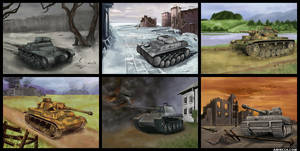 German Panzers