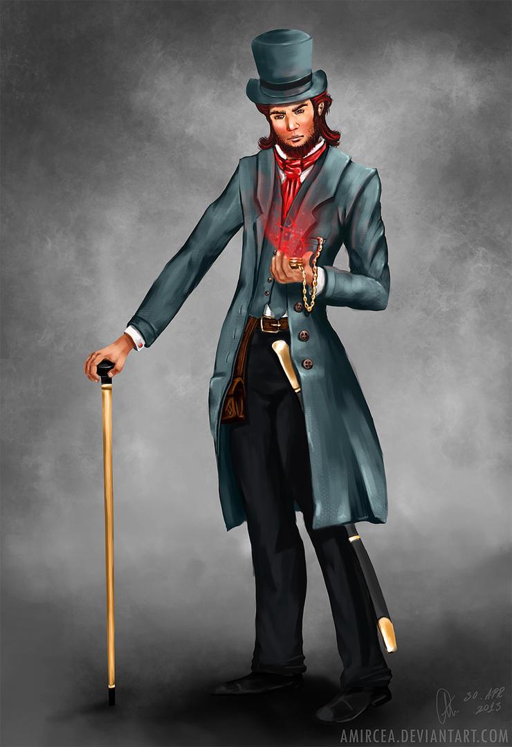 The gentleman by amircea on DeviantArt