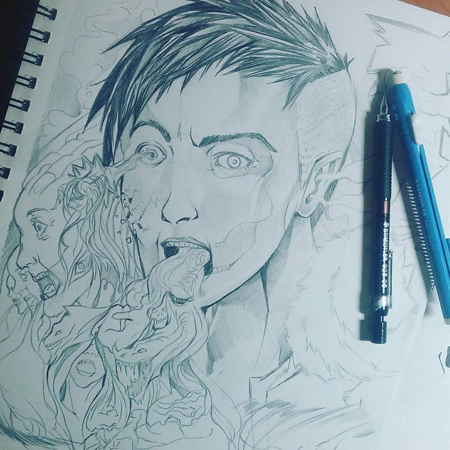 Creative struggle by Salty1
