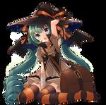Witch miku by indecisive-bird