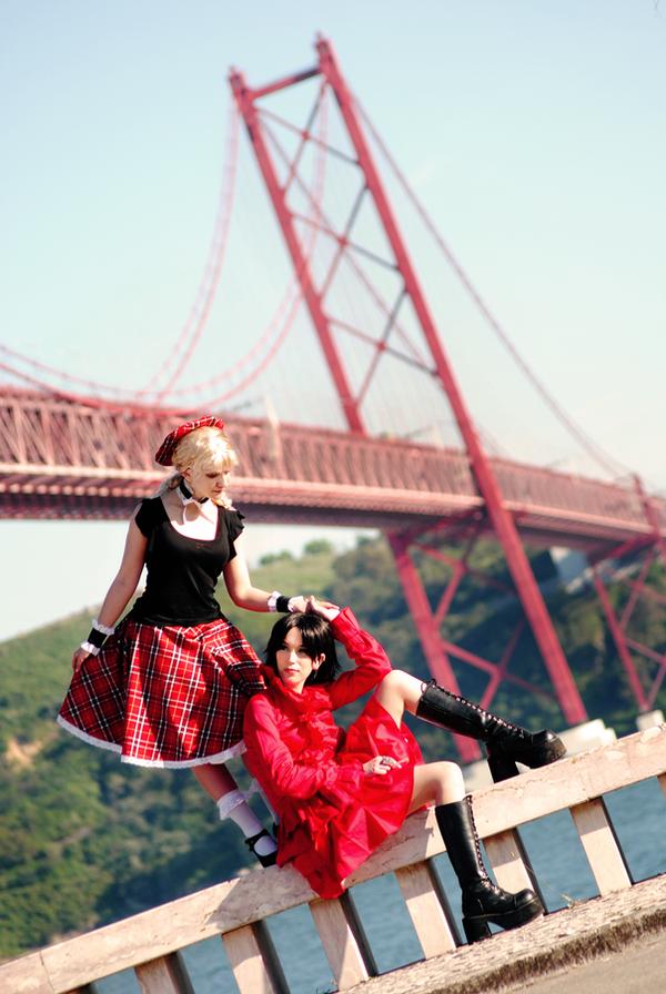 Nana and Misato by SaraDarkLight