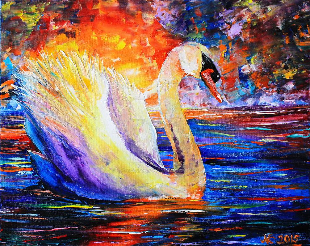 Swan by NataliyaBohdana