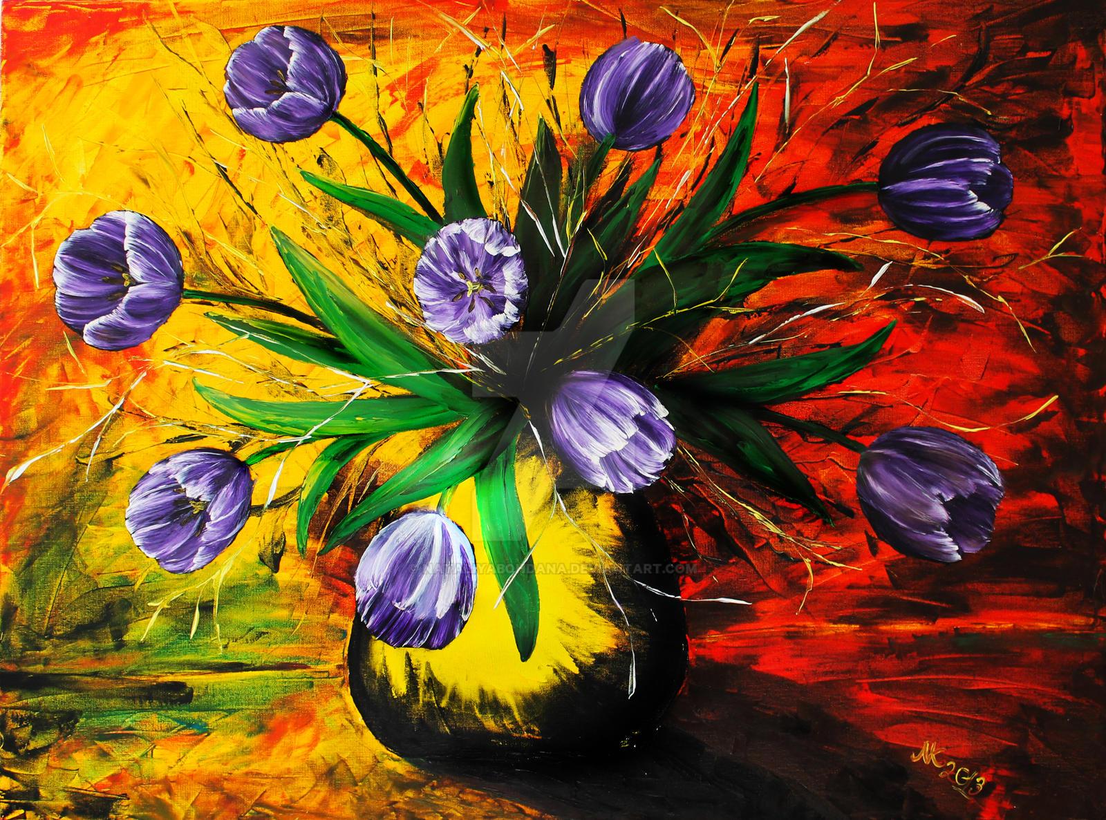 flowers III by NataliyaBohdana