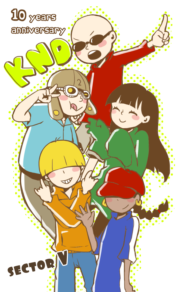 KND 10 years anniversary by boringcloud