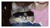 Punk Cat Stamp by Grumpyfart