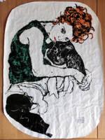 Egon Schiele Pastie by sykonurse