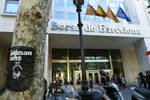 Goldman-Sachs-Puppet at Barcelona Stock Exchange