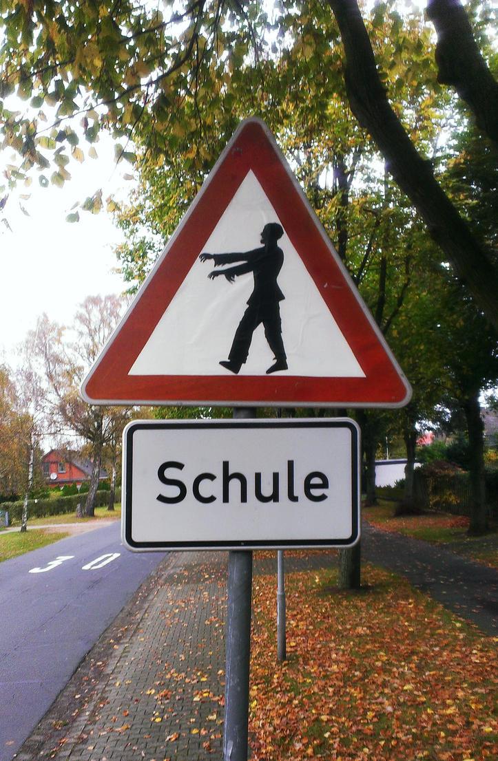 Beware, Zombies Ahead by sykonurse