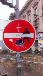 Forrest Gump in Berlin by sykonurse